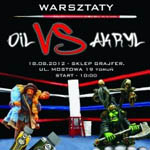 Warsztaty Oil vs Akryl