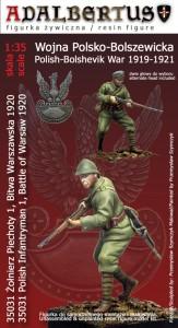 Figurka żołnierza 1920 roku