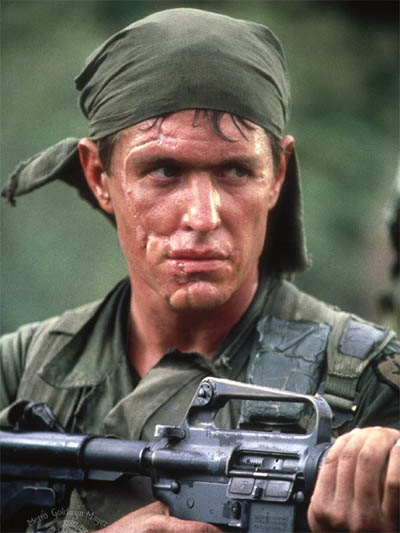 Sergeant Barnes, Platoon (1986)