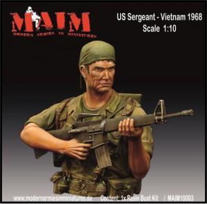 popiersie z wojny w Wietnamie