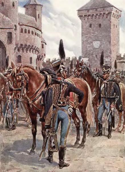 żołnierze 10 pułku huzarów