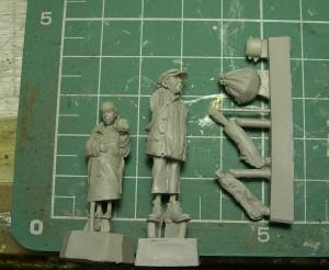 Figurki zywiczne S-3545