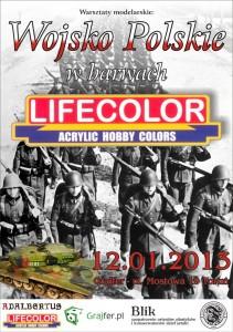 plakat warsztatów Lifecolor