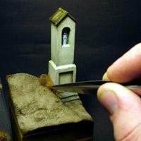 Przydrożna kapliczka – podstawka figurki krok-po-kroku