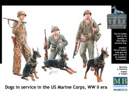 US Marines with Dogs