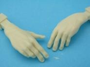 Sowiecki czołgista - dłonie