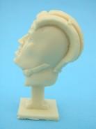 Sowiecki czołgista głowa profil