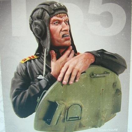 T-55 Tanker – popiersie sowieckiego czołgisty (skala 1/9)
