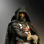 Pegaso Model 90-038 Templar Sergeant, XIII century, figurka 90mm
