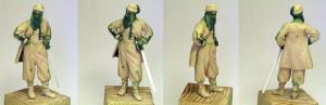 rzeźba figurki Żuawa