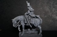 Mounted French Hussar