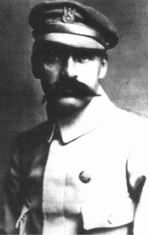 Józef Piłsudski w mundurze strzeleckim 1914