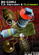 US Grenades and Claymores