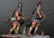 Liby-phoenician infantryman