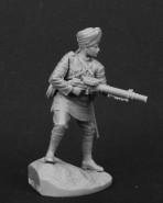 Havildar (sergeant) with Machine Gun