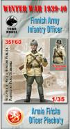 Armia Fińska - Oficer piechoty