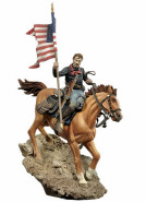 U.S. Cavalry Flag Bearer