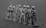'Going Up The Line', 1917/18