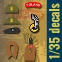 Kalkomanie 1/35 - odzanki 1 Dywizji Pancernej