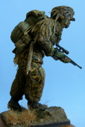 Modern British Sniper
