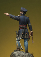 Officer of 2° Dragoons USA 1848