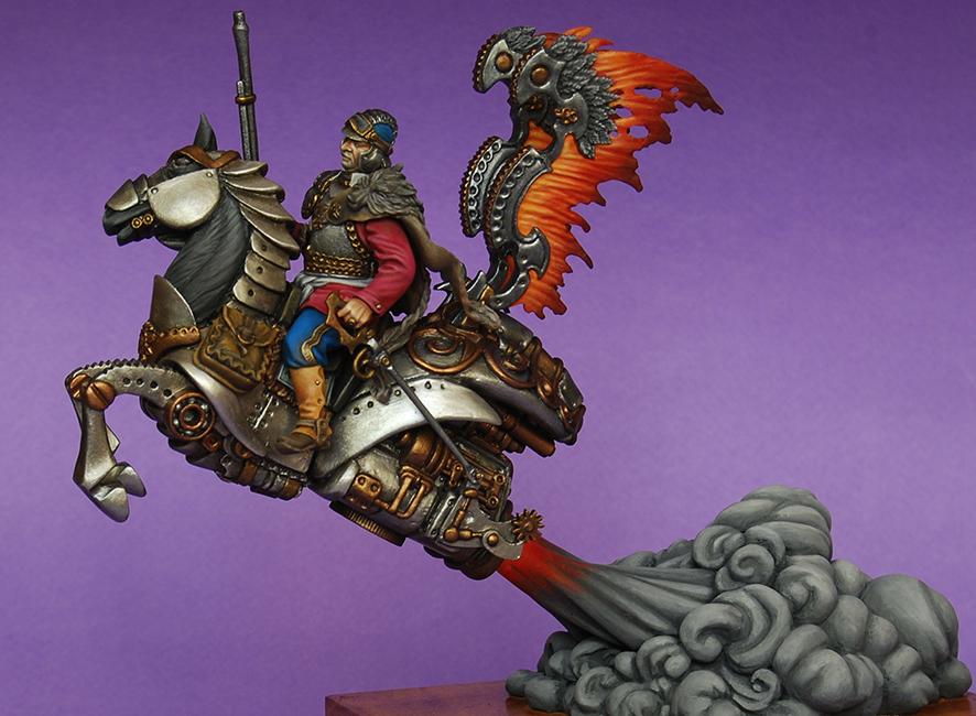 Steampunk Hussar