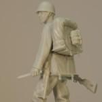 Figurka żołnierza polskiego 1939 – 120mm – sklejone części