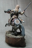 Mounted trapper