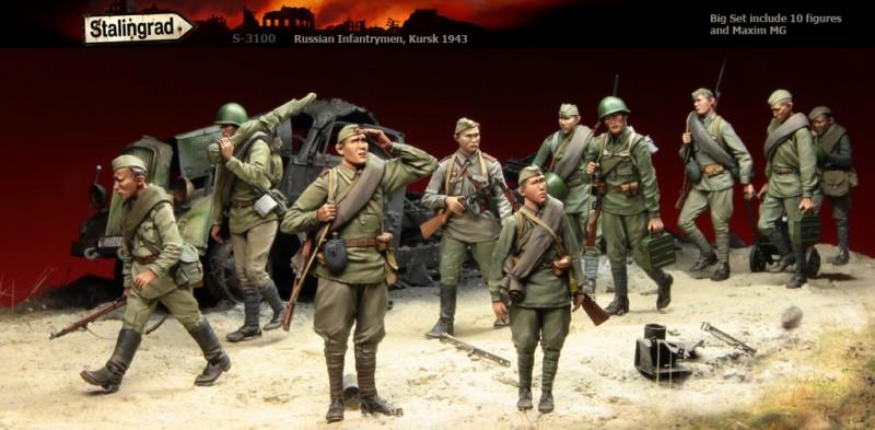 Russian Infantrymen