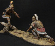 Hector and Patroclus Duel