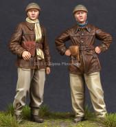 WW2 French Tank Crew