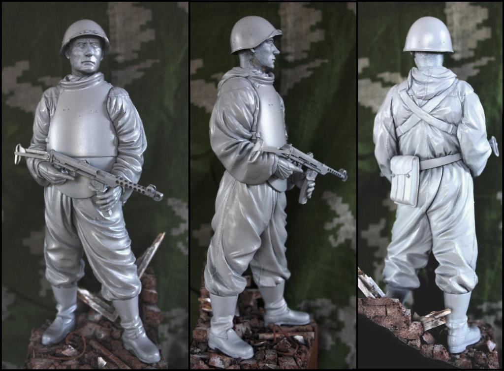 Soviet Assault Engineer, WWII