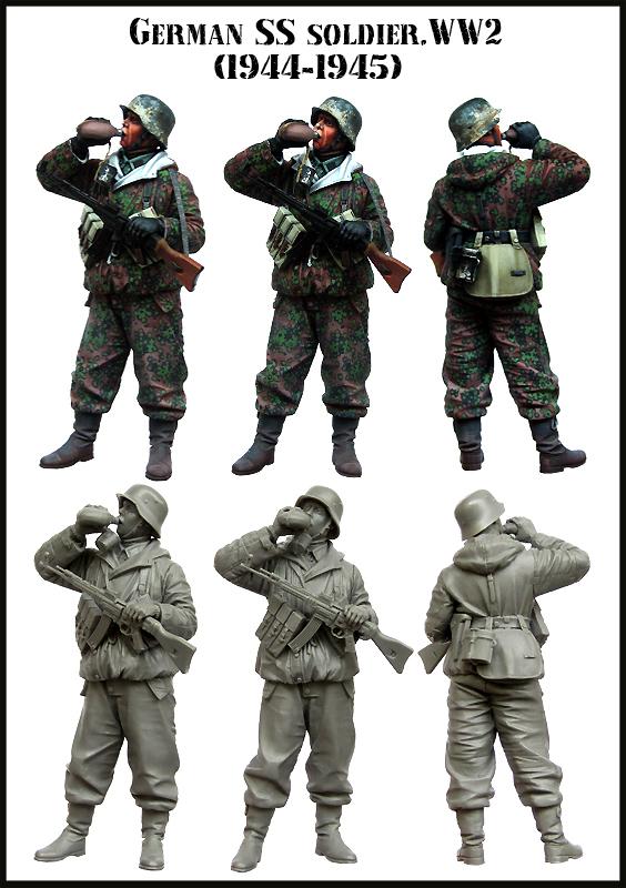 Greman SS Soldier