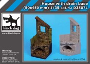 House with drain base