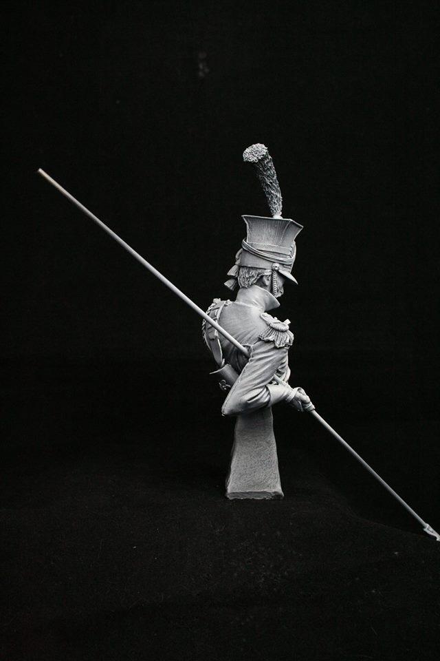 Imperial Guard Red Lancer Trooper