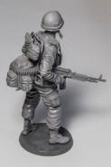 US Machine gunner