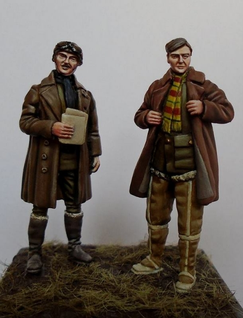 WW1 RFC Pilots