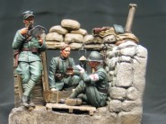 WWI Italian Trench