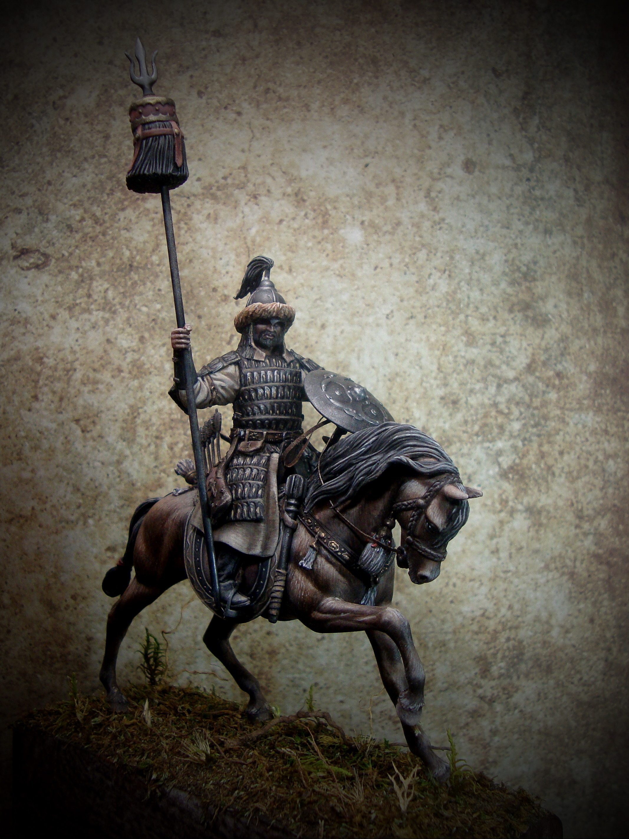 Mounted Mongol Warrior