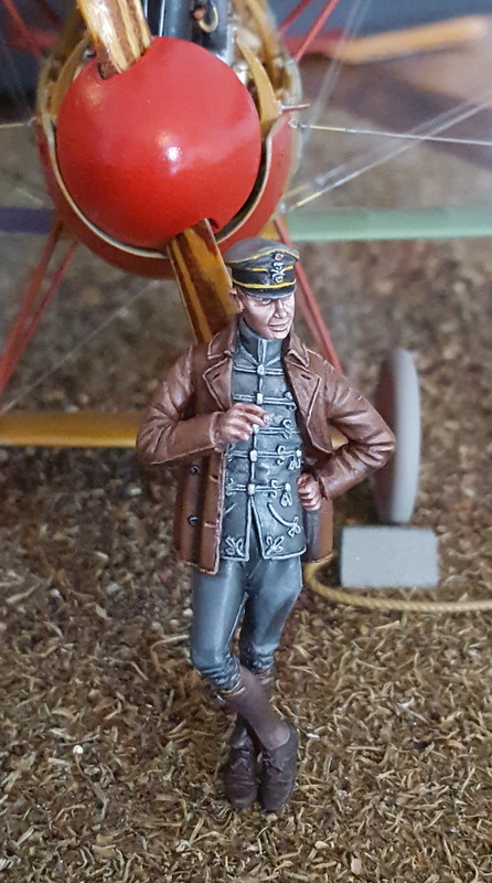 German WW1 Hussar Pilot