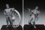 Wounded Union / Washington Artillery