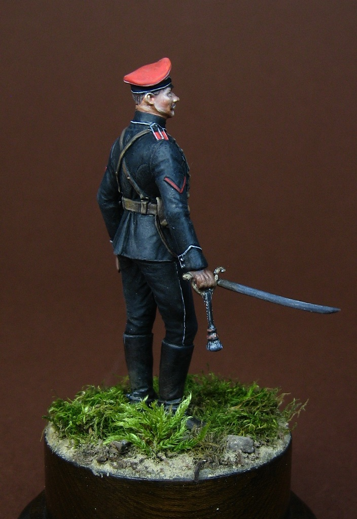 Russian White Army Officer