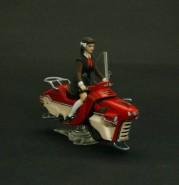 Soviet Pioneer Girl on Hoverbike