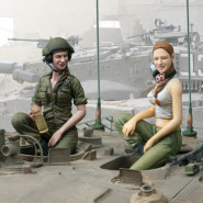 IDF Female Tank Crew