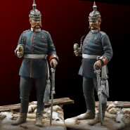 French and Prussian officer