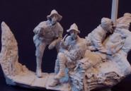 WW1 Allied Trench Scene