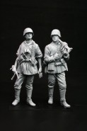 WWII SS MG34 Team