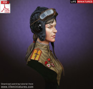 WW2 Soviet Female Tanker