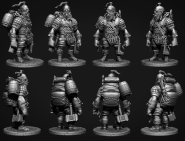 Combat engineer dwarf