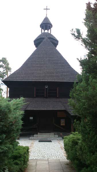 kościół w Spale